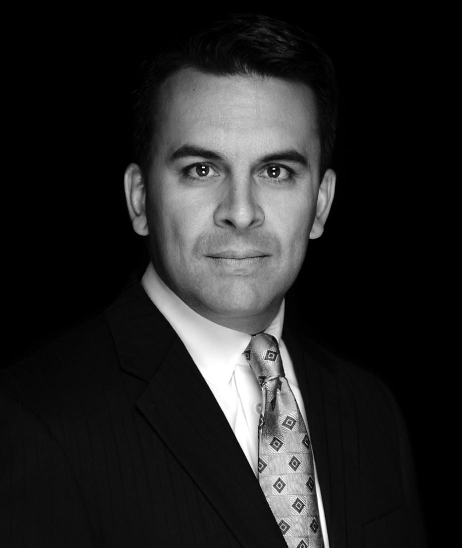 Carlos Black White Portrait